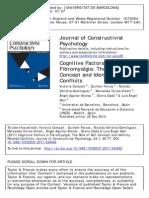 Cognitive Factors in Fibromyalgia