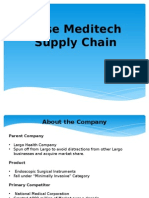 Meditech Case Supply Chain