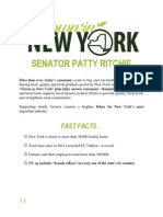 """Senator Patty Ritchie """"Grown in New York"""" Agriculture Plan 2015"""