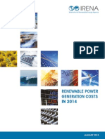Renewable Power Generation Costs 2014
