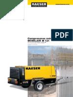 Kaeser M121 especificaciones