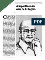 A Importância Da Obra de Carl Rogers