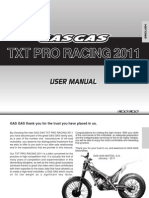 Manual Txtracing En gasgas