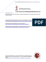 Evidence for the cure of HIV infection by CCR5{Delta}32/{Delta}32 stem cell transpantation