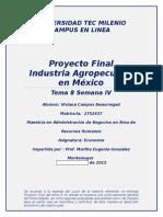 Perspectiva de la Industria Agropecuaria en Mexico