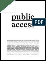 David Horowitz Public Access
