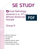 ClinPath (1) CASE STUDY 6 Anemia