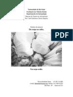 Relatório- FLAVIA ALTENFELDER SANTOS - do corpo ao culto um corpo oculto PDF