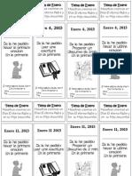 Asignaciones en Separador de Libros 2015