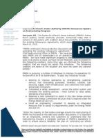 PREPA Announces Update on Restructuring Progress (February 27 2015)