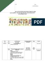 Planificare Sc. Altfel Gradinita 2014-2015