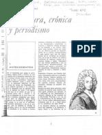 Literatura, cronica y periodismo - Anibal Ford
