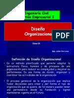 TEMA 4 Diseño Organizacional