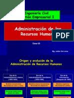 TEMA 5 Administracion de RRHH