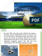 Fizica Pe Terenul de Fotbal
