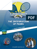 Brochure Padel Connection A4