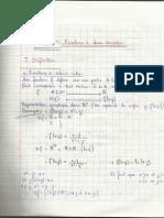 Chapitre 1 - Analyse Vectorielle
