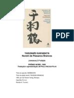 Yasunari Kawabata - Nuvem de Passaros Brancos
