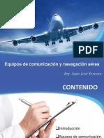 Equipos de Comunicación y Navegación Aérea