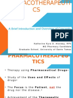 Introduction to Pharmacotherapeutics