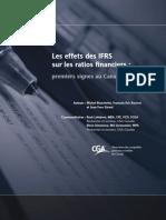 Effets IFRS Sur Les Ratios Financiers