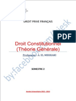 Droit Constitutionnell