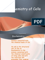 Biochemistry of Cells for 1st year MBBS delivered by Miss Sumaira on 19 jan 2010