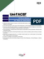 Prova UNIFACEF Medicina 2015