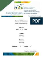 Colegio de Estudios Científicos y Tecnológicos Del Estado de Tabasco
