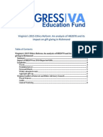 Virginia's 2015 Ethics Reform