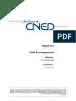 Cours CNED CE1 Anglais