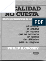 Philip B. Crosby - La Calidad No Cuesta