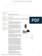 A Primeira Onda de Ficção Científica Brasileira