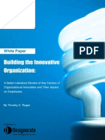Building The Innovative Organization