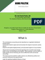 Modul Materi EK Politik Dan Akuntansi Sesi 1 Intro 2014
