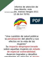Séptimo Informe. Avances y Retrocesos en Aborto Con Medicamentos