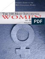 The 100 Most Influential Woman of All Time Edition - December 2009-TV