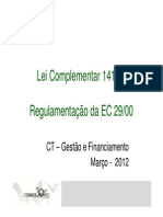 Lei Complementar 141 de 2012