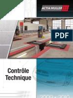 Catalogue ACTIA MULLER Controle Technique