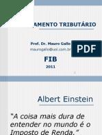 19.02.2011 - Pós graduação Auditoria, controladoria e finanças-Turma IV - Profoessor Dr. Mauro Gallo-aula 1.pptx