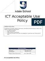 ICT Acceptable Use Policy