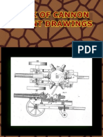 Book of Cannon Patent Drawings