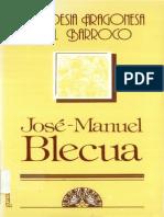 La Poesia Aragonesa Del Barroco