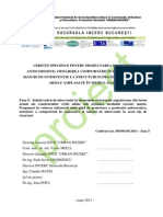 GP x5-2013 Cerinte Specifice Pentru Proiectarea Protectiei Anticorozive, Urmarirea Comportarii in Exploatare Si Masuri de Interventie La Structuri Supraterane Din Beton Armat Amplasate in Mediul Marin