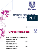 selection process of ubl