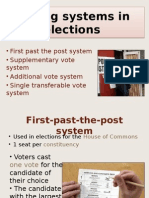 voting systems in elections