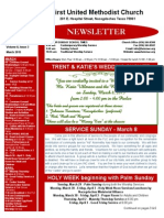 Newsletter for  March 2015