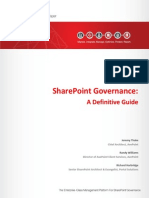 Governance Sharepoint White Paper