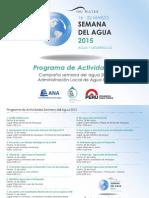 Campaña Semana del Agua 2015 en la cuenca Quilca-Chili