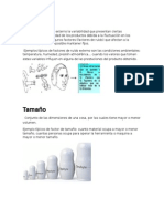 Factores de Diseño